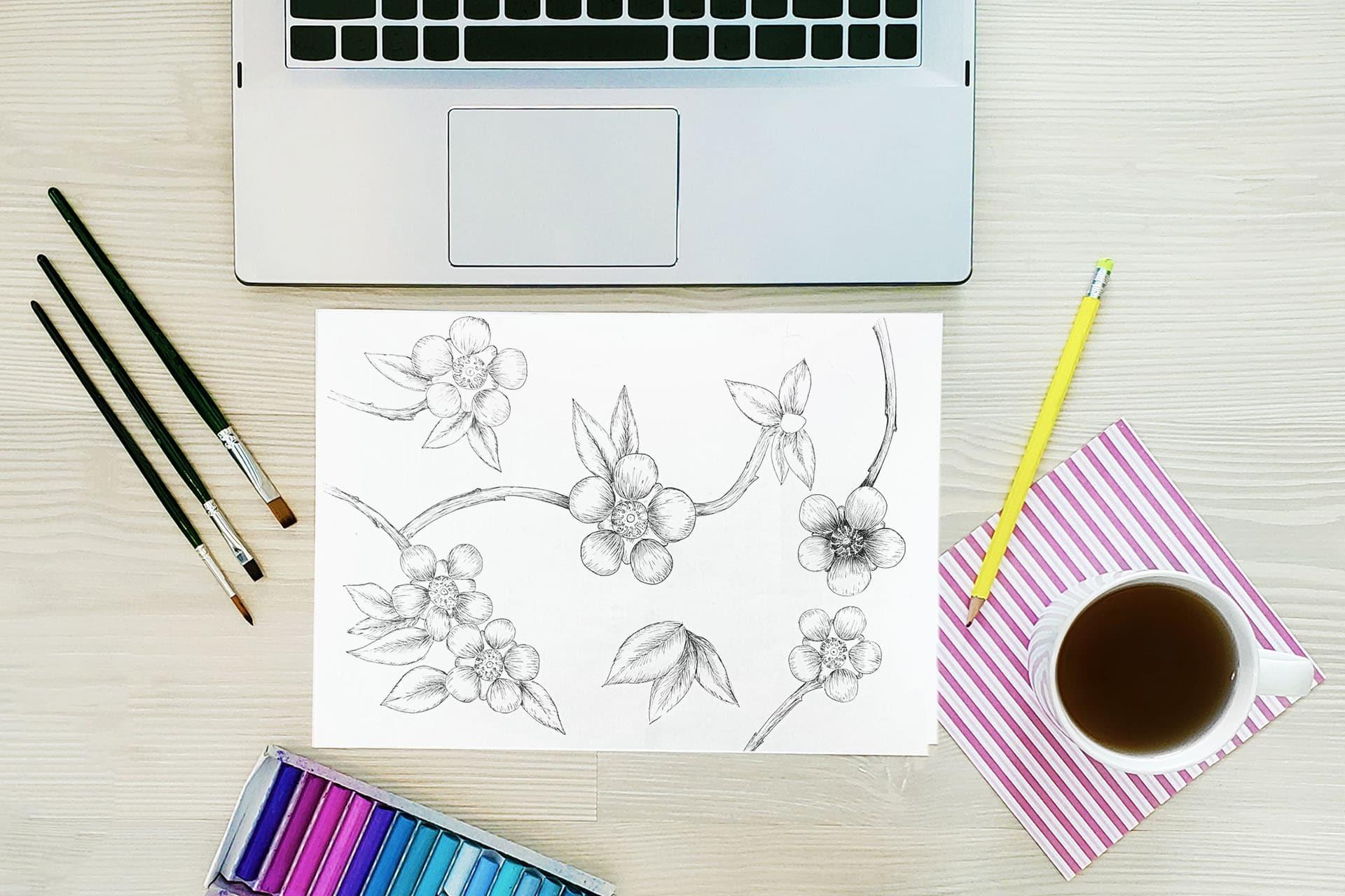 florar pattern design