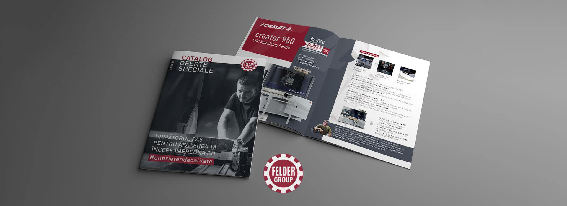 DTP Design Catalogue Felder Group