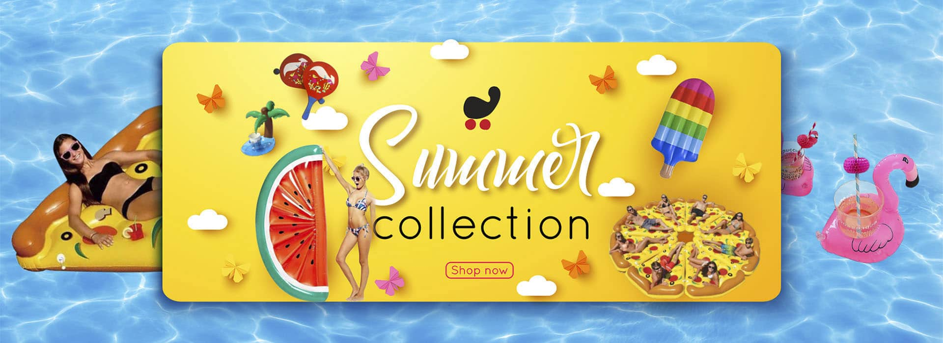 summer collection graphics design