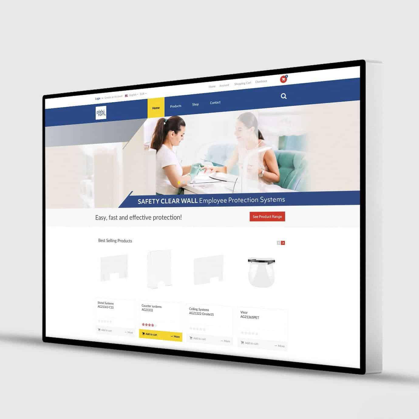 web page simulation